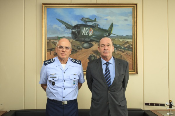 Comandante da FAB apresentou panorama da instituição