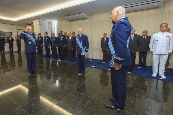 Cerimônia de transmissão de cargo de Secretário de Economia, Finanças e Administração da Aeronáutica e assunção de cargo de Comandante de Operações Aeroespaciais foi realizada nesta terça-feira (08)