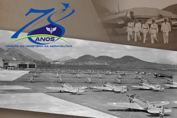 Ministério da Aeronáutica deu origem à Força Aérea Brasileira