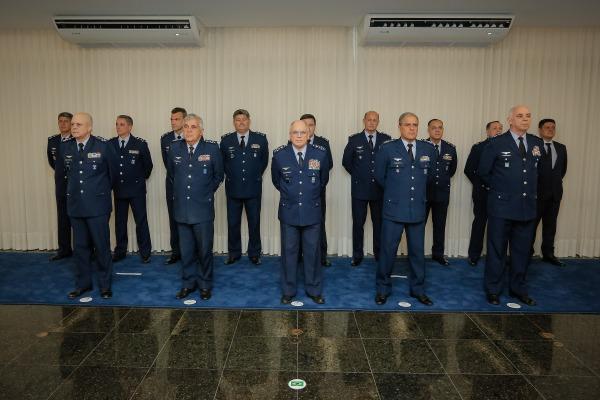 Durante solenidade também foi comemorado o dia da criação da Consultoria Jurídica-Adjunta do Comando da Aeronáutica