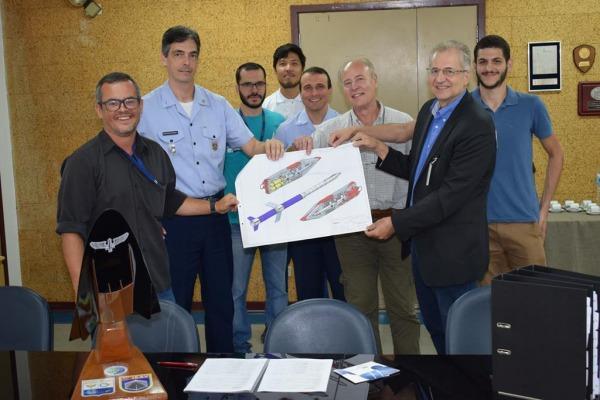 Instituto de Estudos Avançados recebe projeto detalhado do demonstrador tecnológico SCRamjet
