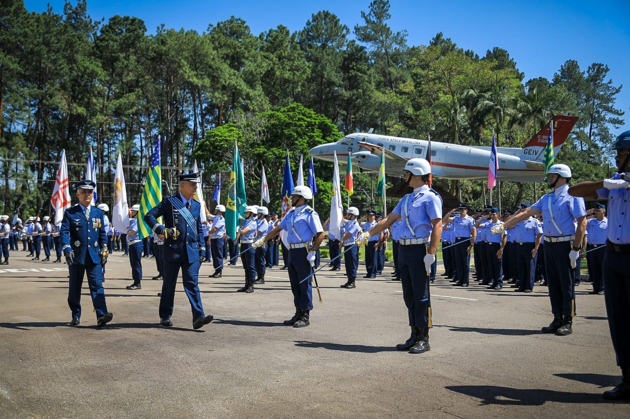 Solenidade aconteceu em São José dos Campos (SP) e foi presidida pelo Comandante da Aeronáutica, Tenente-Brigadeiro Bermudez