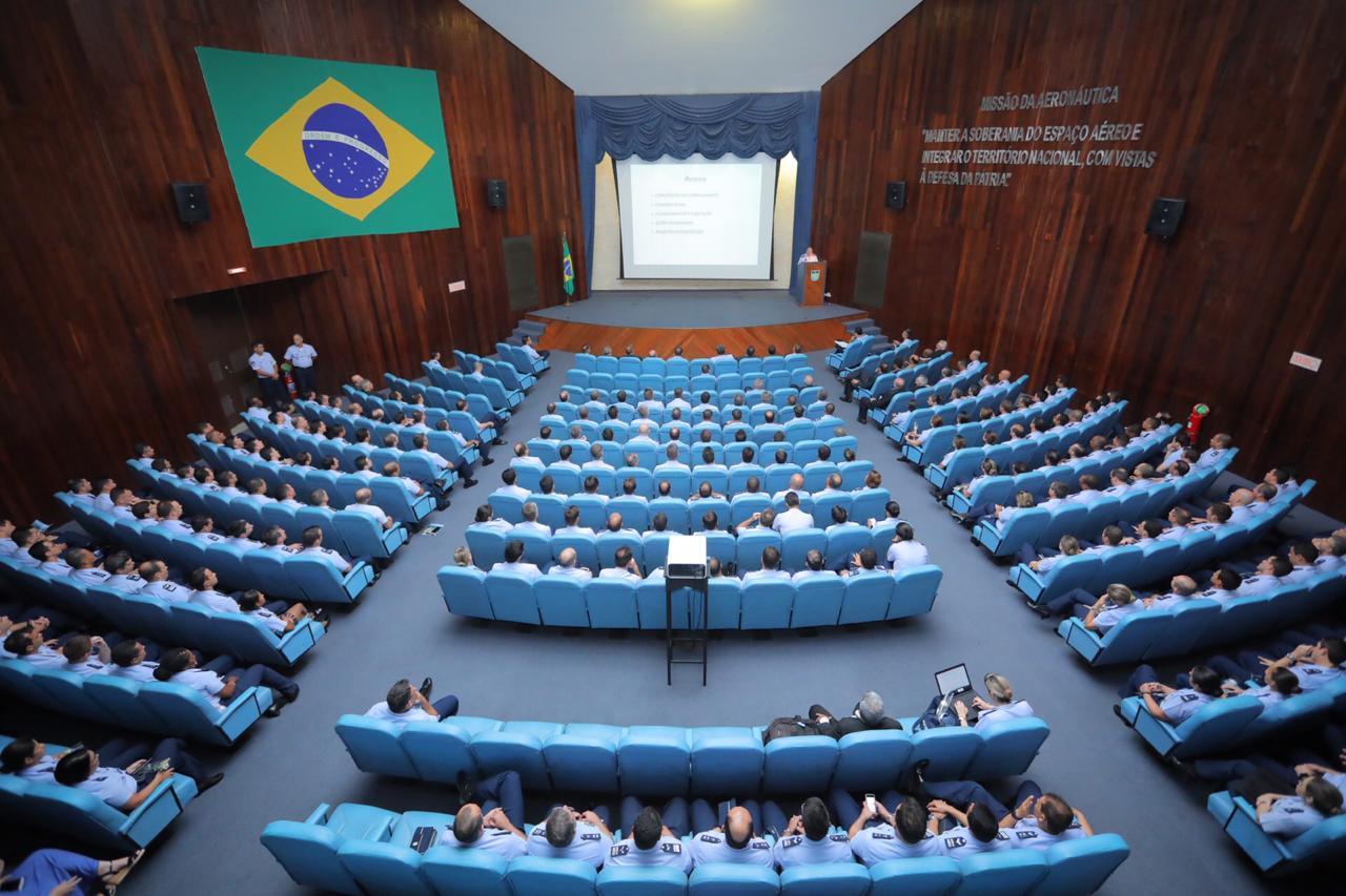 Comandante destacou suas diretrizes e concepções à frente da Força Aérea Brasileira