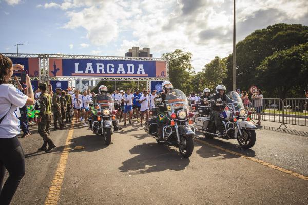 Evento na Capital Federal foi organizado pela Ala 1 e realizado simultaneamente em outras cidades