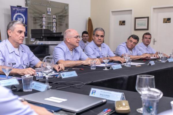 Evento tem como objetivo o intercâmbio de ideias entre representantes de diversas Organizações Militares da FAB