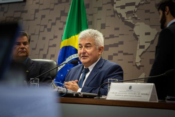 Ministro Marcos Pontes explicou o que muda com a assinatura do acordo, que viabiliza a comercialização do Centro de Lançamento de Alcântara