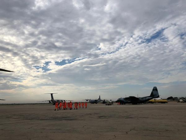 Em Luanda, foi realizada parada para descanso das tripulações