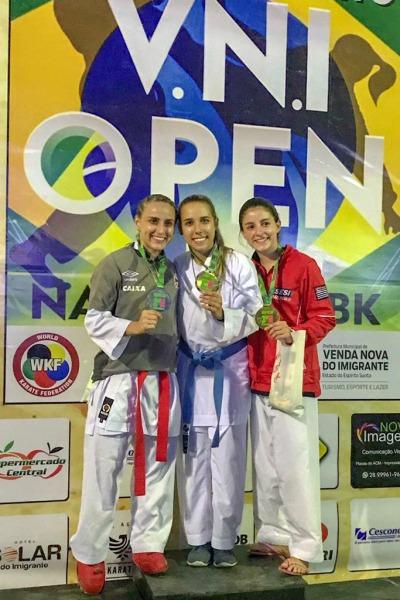 Sargento Tamillis campeã do Open Nacional de Venda Nova