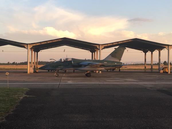 Aeronaves A-1M participam do treinamento
