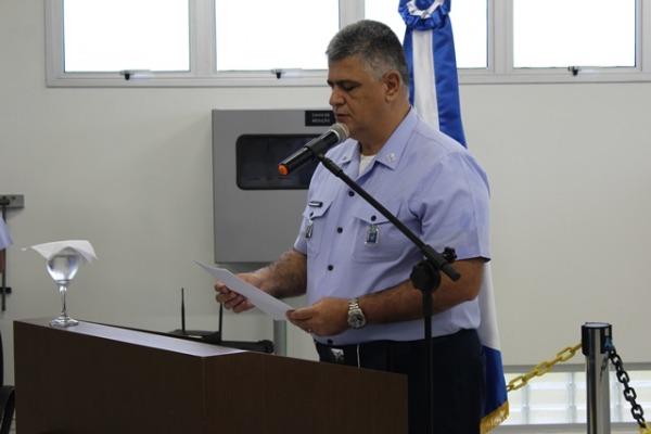 Comandante da Ala 4 discursou aos presentes