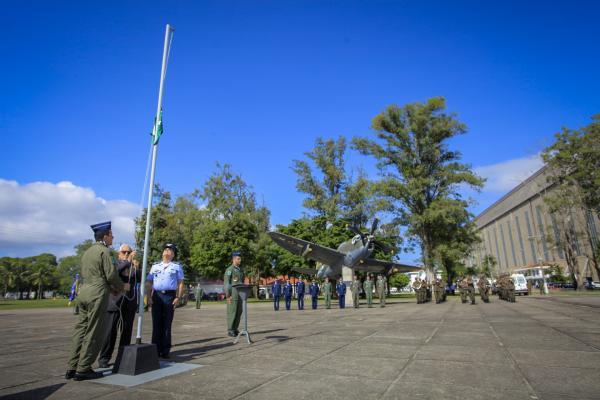 Heróis da Força Aérea na Segunda Guerra Mundial foram homenageados na Cerimônia do P-47