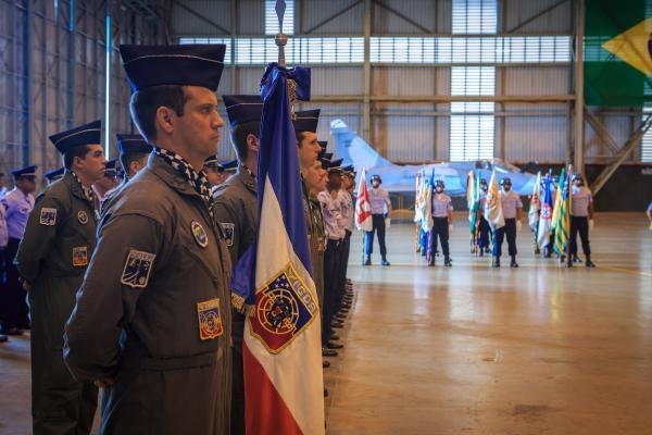 Além do Dia da Aviação de Caça, também foram comemorados os 47 anos da Ala 2, antiga Base Aérea de Anápolis, e 40 anos do Primeiro Grupo de Defesa Aérea