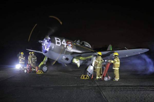 Com presença do Comandante da Aeronáutica, MUSAL promoveu evento que reviveu som do Republic P-47 Thunderbolt