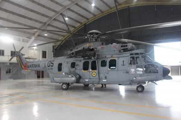 Chegada do Helicóptero H-36 Caracal marca início de projeto inédito