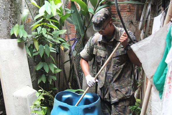 Cem soldados da Base Aérea de São Paulo participam, até 31 de maio, do projeto Forças Armadas contra as Arboviroses