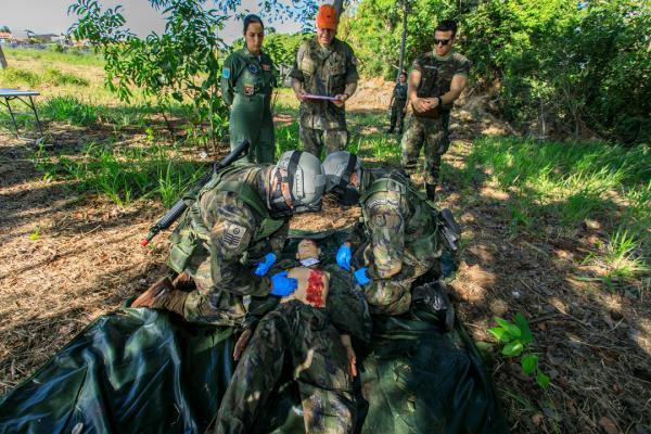 Atendimento Pré-Hospitalar Tático ocorre em situações de conflito armado