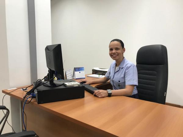 Tenente Joyce está entre os profissionais de Serviço Social da FAB