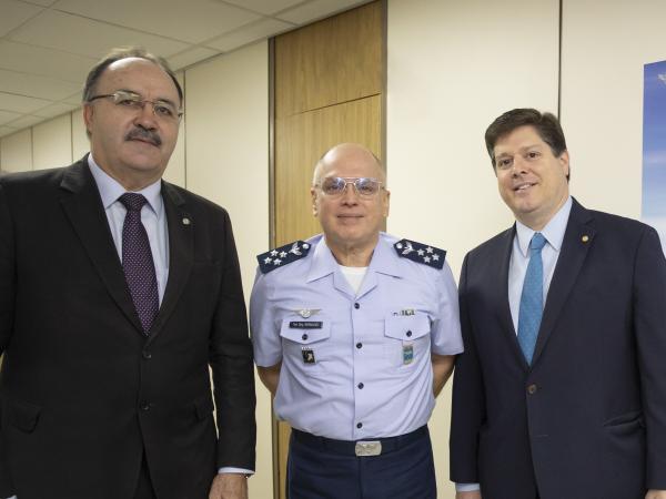 Objetivo da visita foi agradecer a participação da FAB no Programa Voluntários do Sertão