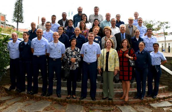 Desde terça-feira, militares e civis que fizeram parte da história da EPCAR participam de atividades na Nascente do Poder Aéreo