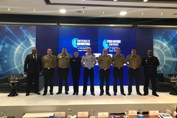 Chefe da 3ª Subchefia do EMAER participou da Conferência de Defesa Cibernética do Hemisfério Ocidental