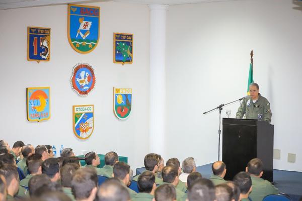 Esquadrões Aéreos e unidades de infantaria realizaram exercício operacional durante 25 dias