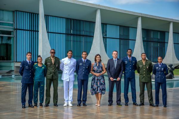 Dois deles, atendidos pelo Programa Atletas de Alto Rendimento, são sargentos da Força Aérea Brasileira