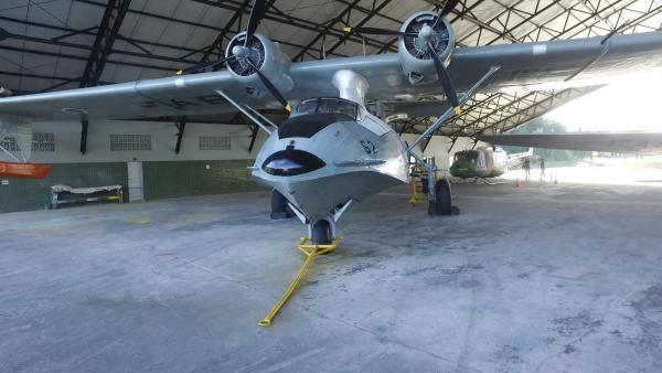 Aeronaves antigas estão em exposição no Memorial