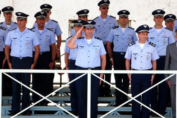 Solenidade foi presidida pelo Comandante da Ala 11, Brigadeiro do Ar Fernando César da Costa e Silva Braga