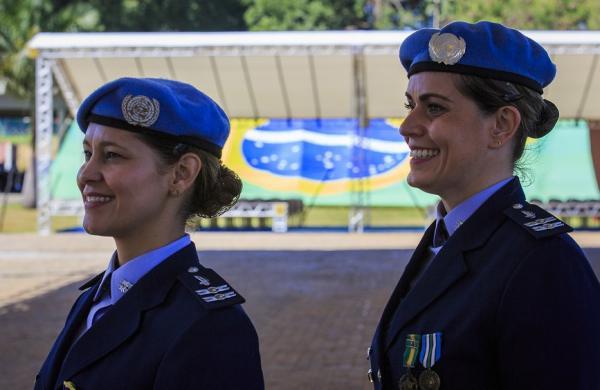 As oficiais da FAB participaram de missões da ONU no Sudão e no Sudão do Sul
