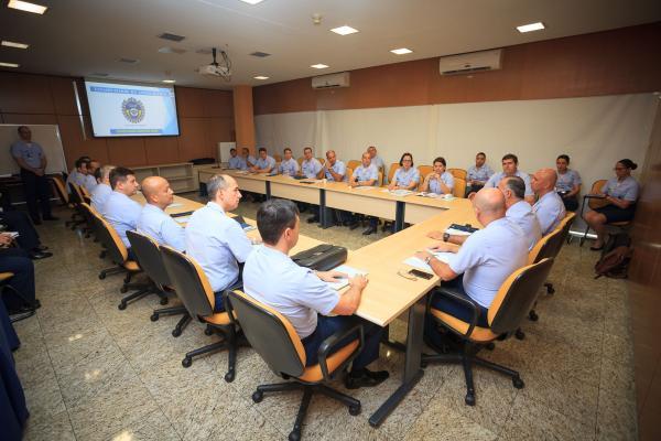 Os Graduados-Master participaram também de um almoço com o Comandante da Aeronáutica