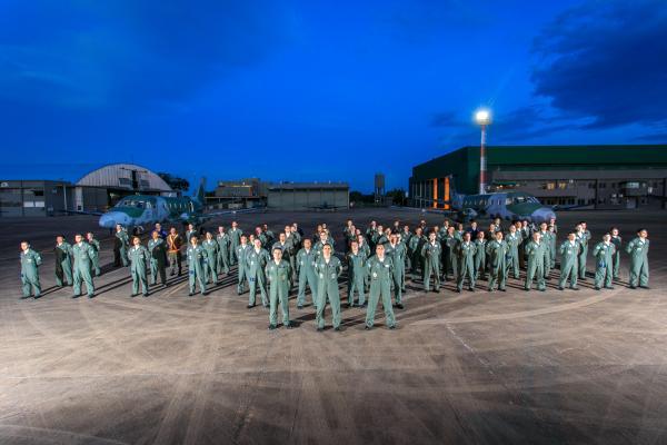Aviação de Transporte, cuja data é celebrada no dia 12 de junho, realizou transporte aéreo logístico, lançamento de cargas e mobilização e desmobilização de tropas durante o exercício