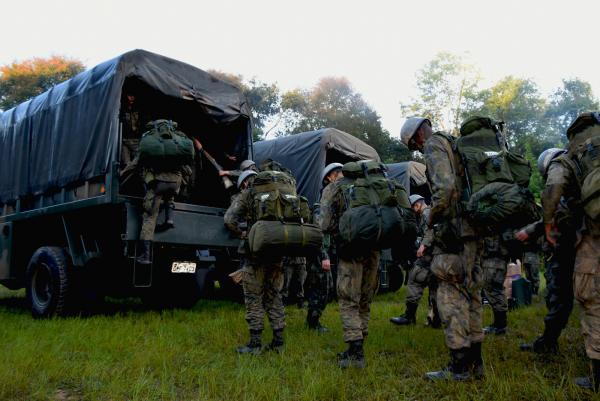 Em Barbacena (MG), 40 jovens foram preparados para o cumprimento do Serviço Militar Inicial
