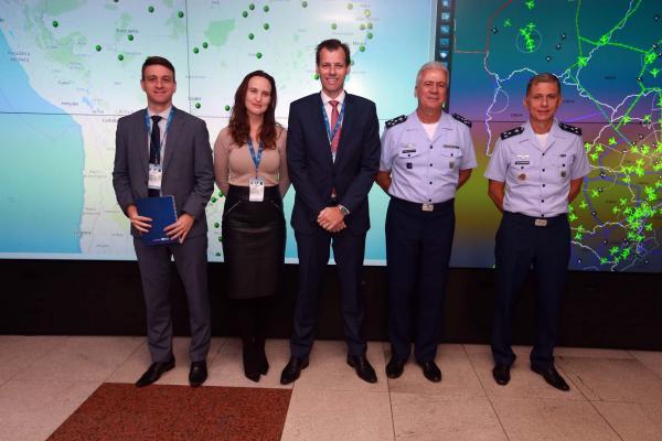 Sala Master de Comando e Controle foi ativada nesta segunda-feira (10), no Rio de Janeiro (RJ)