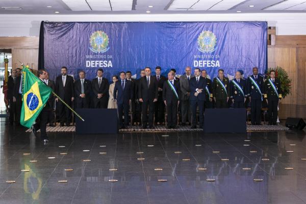 Cerimônia contou com a imposição da Ordem do Mérito da Defesa