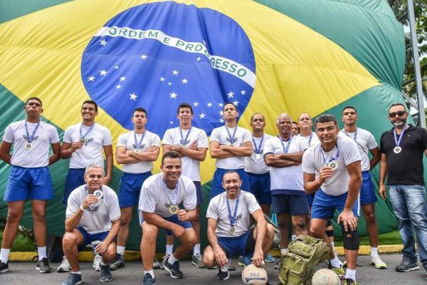 Equipe da FAB venceu a disputa de vôlei