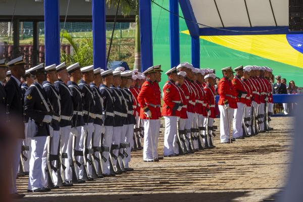 Cerimônia militar ocorreu em Brasília (DF)