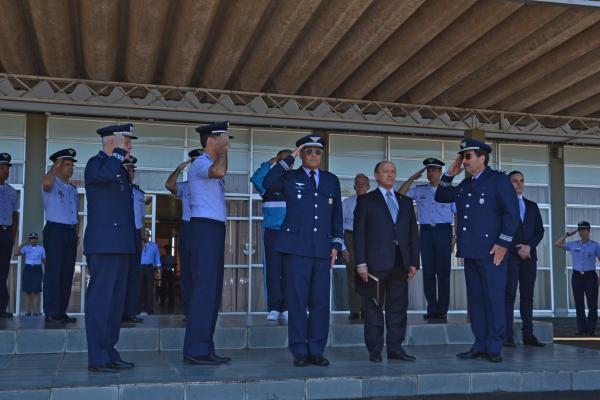 Solenidade foi realizada no Pátio do Corpo de Cadetes da AFA