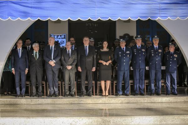 Evento em Guaratinguetá (SP) contou com a presença do Presidente Jair Bolsonaro