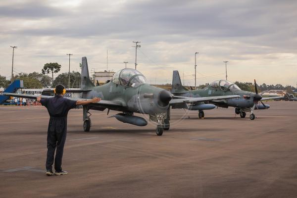 Operação reforça a vigilância no espaço aéreo sobre a região de fronteira do Brasil