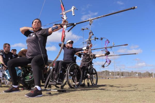 Evento contou com mais de 70 militares nas modalidades de lançamento de dardo, disco e peso, tiro com arco, corrida e natação
