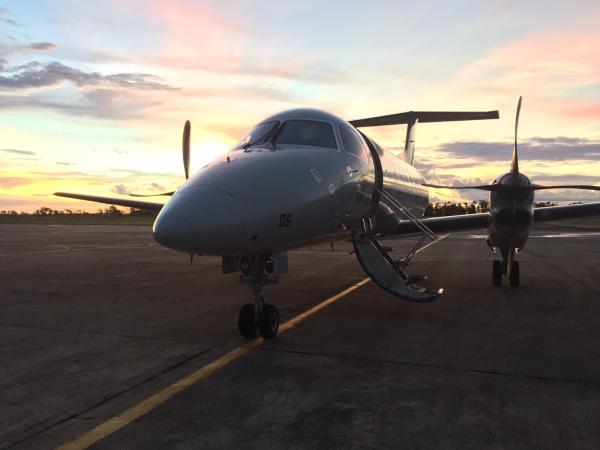 Fígado foi embarcado em uma aeronave do 7° Esquadrão de Transporte Aéreo; somente esse ano, a Força Aérea cumpriu 81 missões desse tipo