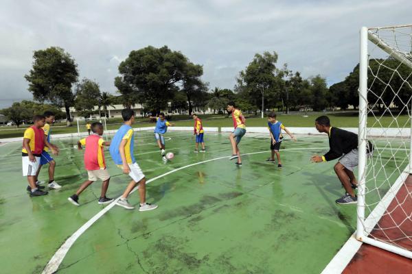 PROFESP do CINDACTA III leva esporte para 350 alunos