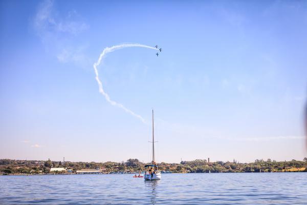 Ao todo, 17 embarcações participaram da competição em Brasília (DF)