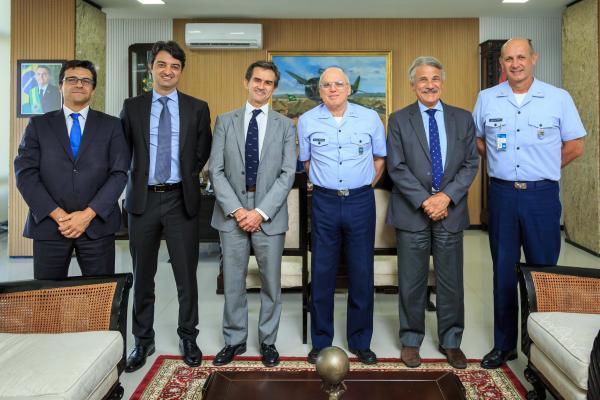 Encontro ocorreu na tarde desta quarta-feira (17/07) no Comando da Aeronáutica