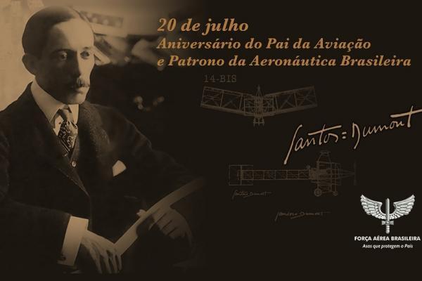 Material relembra história do brasileiro pioneiro na aeronáutica mundial