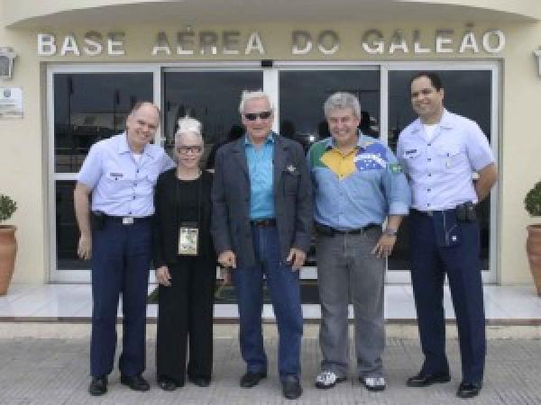 Neil Armstrong e Buzz Aldrin concederam entrevistas à Força Aérea Brasileira em 1969 e em 2009