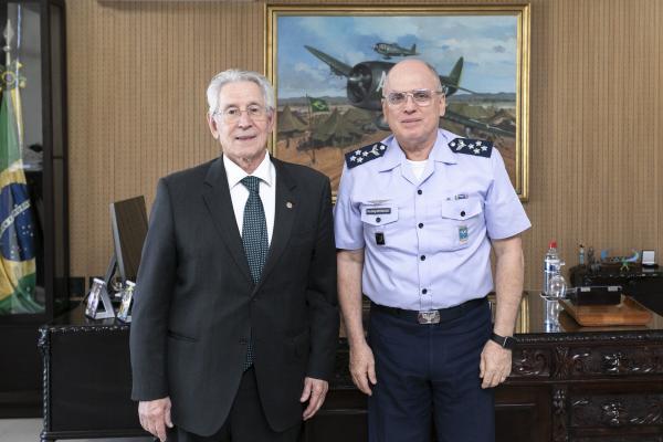 Encontro ocorreu nesta quinta-feira (25/07) no Comando da Aeronáutica, em Brasília (DF)