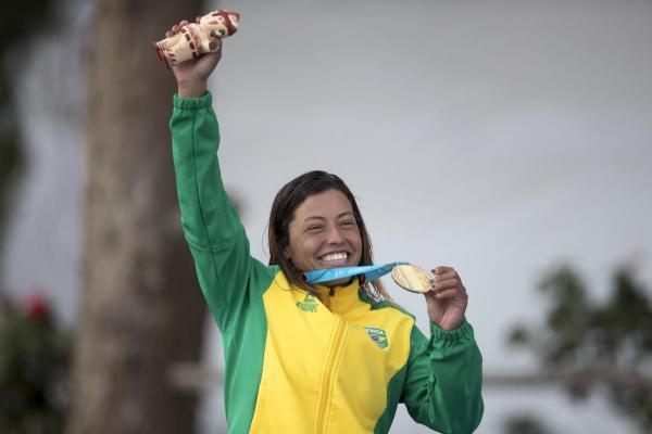 Um dos destaques foi a Sargento Ana Sátila Vieira Vargas, com duas medalhas de ouro na canoagem