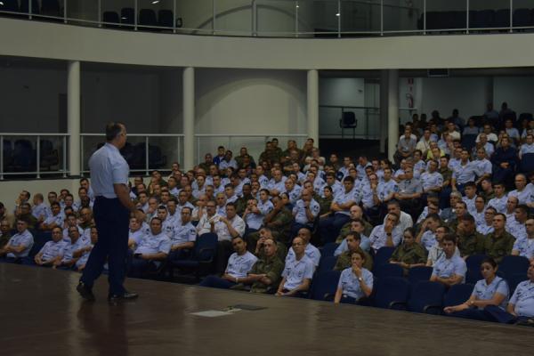 Palestras estão sendo realizadas pelo EMAER, COMGEP e DIRENS em diversas organizações militares da FAB