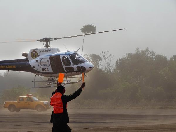 Objetivo foi manter o adestramento das equipes envolvidas na eventualidade de uma catástrofe aérea